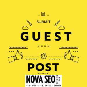 submit a guest post in nova seo services and solution canada toronto